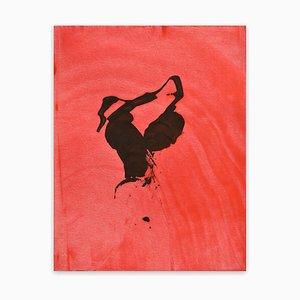 Frankly Scarlet 50, Pittura astratta, 2021