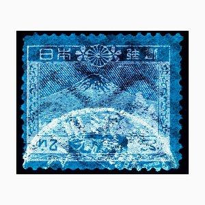 Japapier Briefmarkensammlung Mout Fuji - Conceptual Pop Art Colour Photography 2016
