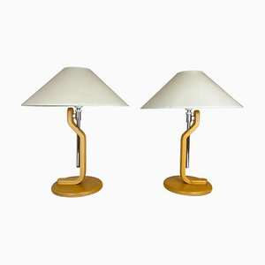 Scandinavian Modern Grevie Table Lamps by Lars Bessfel for Ateljé Lyktan, 1980s, Set of 2