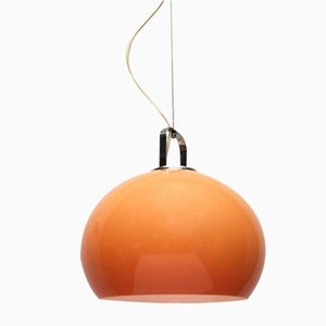 Mid-Century Italian Space Age Zurigo Pendant Lamp by Luigi Massoni for Guzzini