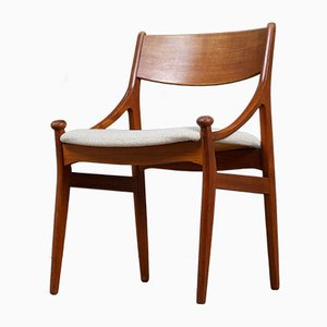 Mid-Century Teak Dining Chairs by Brdr. Tromborg for H. Vestervig Eriksen, 1960s, Set of 6