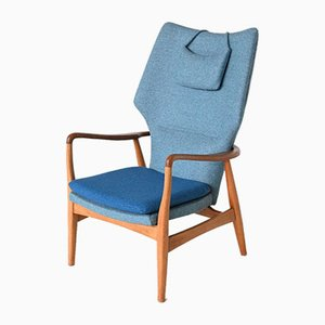 Dutch Karen Wingback Chair by Aksel Bender Madsen for Bovenkamp, 1960s