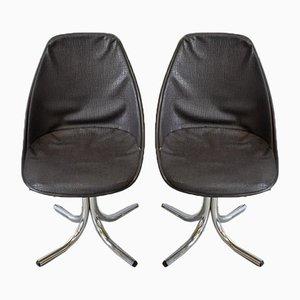 Vintage Desk Chairs, Set of 2