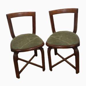 Kleine Italienische Sessel, 1970er, 2er Set