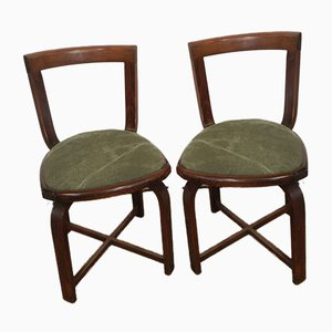 Small Italian Lounge Chairs, 1970s, Set of 2