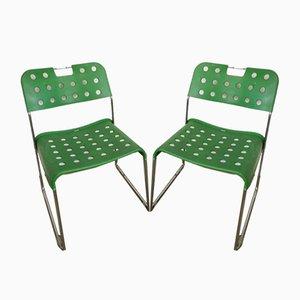 Italienische Gartenstühle von Rodney Kinsman für Bieffeplast, 1970er, 2er Set