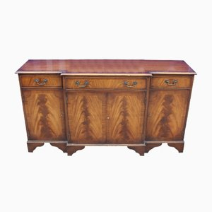 Mahogany Breakfront Sideboard with 3 Drawers, 1960s