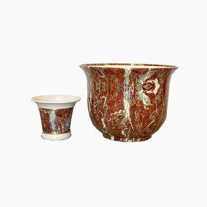 Vintage Vasen von Tommaso Barbi, 2er Set