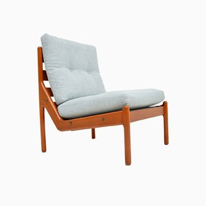 Danish Teak Lounge Chair by Illum Wikkelsø for CFC Silkeborg, 1960s