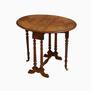 Victorian Walnut Baby Sutherland Side Table