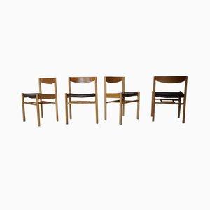 Mid-Century Esszimmerstühle von Vilhelm Wohlert für Sorø Stolefabrik, 4er Set