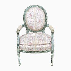Antique Louis Lounge Chair, 1890s