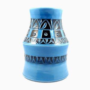 Mid-Century Italian Ceramic Vase by Fratelli Fanciullacci, 1960s
