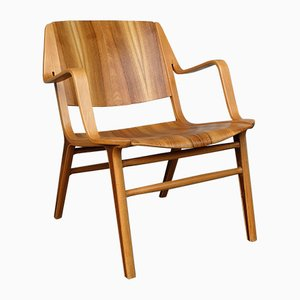 Teak AX Lounge Chair by Peter Hvidt & Orla Mølgaard-Nielsen for Fritz Hansen, 1960s