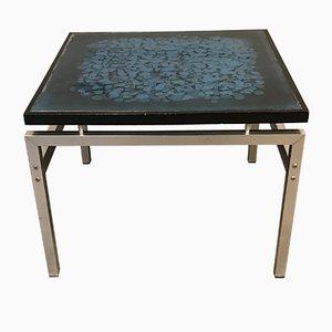 Danish Glass Coffee Table by Jean Rene, 1960s