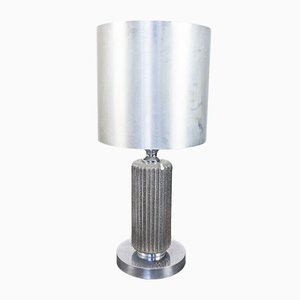 Vintage Metal Table Lamp, 1970s