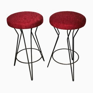 Bar Stools, 1960s, Set of 2