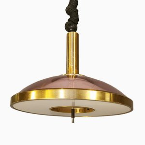Mid-Century Ceiling Lamp with Up-and-Down System from Stilux Milano