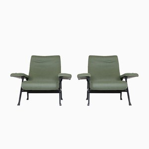 Hall Armchairs by Roberto Menghi for Arflex, 1960s, Set of 2