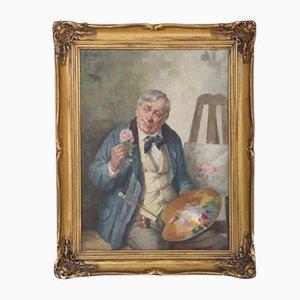 Pintura de H. Rudolf, década de 1900