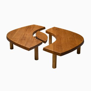 Vintage T22C Coffee Table by Pierre Chapo