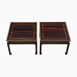 Faux Rosewood Coffee Tables, 1950s, Set of 2