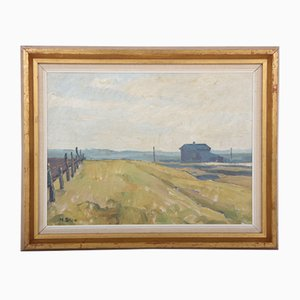 Dänisches Gemälde von M. Skov