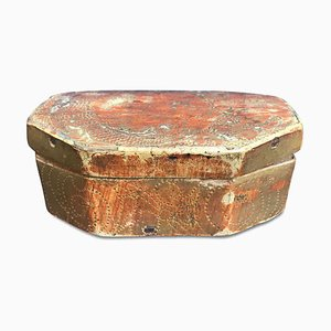 Antique Gilded and Embossed Box