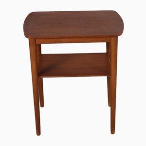 Vintage Scandinavian Teak Side Table, 1960s