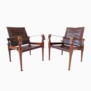 Chaises Pliables par M. Hayat, 1960s, Set de 2