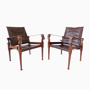 Folding Chairs by M. Hayat, 1960s, Set of 2