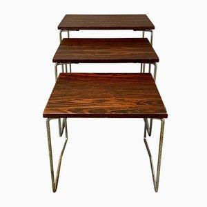Tables Gigognes, 1950s, Set de 3