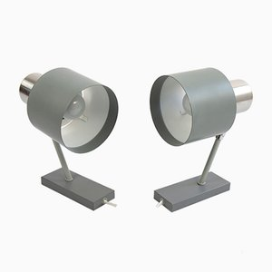Alfa Wall Lights by Jo Hammerborg for Fog & Mørup, 1960s, Set of 2