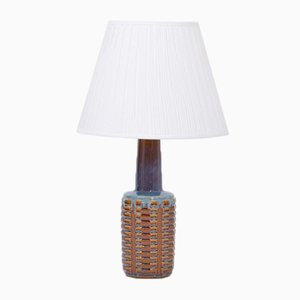 Tall Ceramic Table Lamp by Einar Johansen for Søholm, 1960s