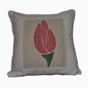 Cojín Tulip vintage estampado