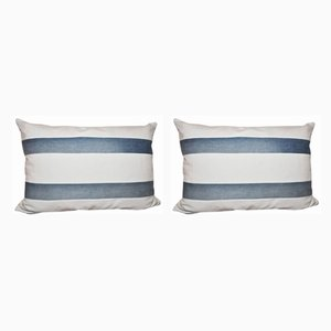 Vintage Striped Cushions, Set of 2