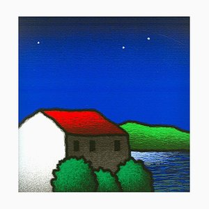 Tino Stefanoni: At the Lake, Color Silkscreen