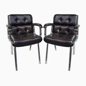 Skai Lounge Chairs, 1990s, Italy, Set of 2