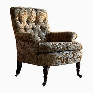 19th Century Easy Armchair from Howard & Sons, 1860s