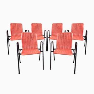 Französische Gartenstühle von Fantasia, 1960er, 2er Set