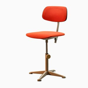Industrial Dutch Desk Chair from Ahrend De Cirkel, 1950s