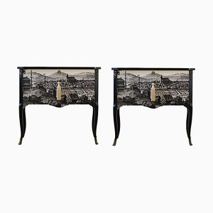 Gustavian Style Commodes, Set of 2