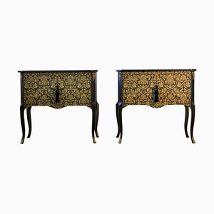Louis XV Style Chests, 1950s, Set of 2