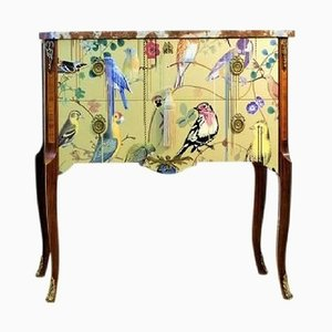 Louis XV Style Chest with Christian Lacroix Design, 1950s