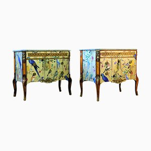 Christian Lacroix Style Commodes, 1950s, Set of 2