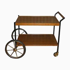 Walnut 4101 Bar Cart from Opal Möbel, 1960s