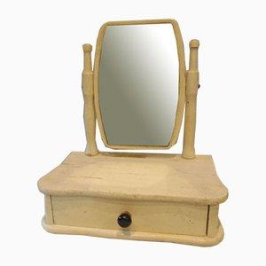 Wooden Children's Vanity Mirror from Novy Jicin, 1972