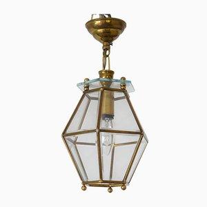 Kleine Deckenlampe im Stil von Adolf Loos, 1950er