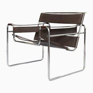 Sedia B3 Wassily di Marcel Breuer per Knoll Inc. / Knoll International, anni '80