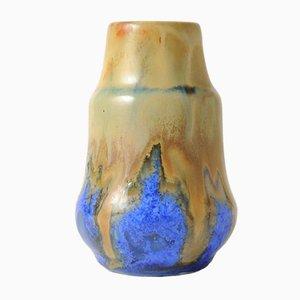 Vase Art Nouveau en Céramique par Gilbert Metenier, France, 1920s